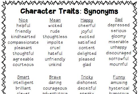 Character Traits Make a Whopping Difference!