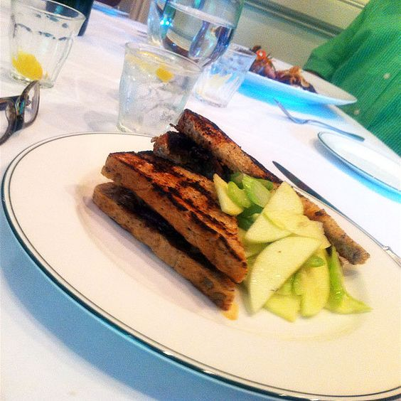 Smoked Duck, Cashew-Peanut Butter and Pepper Jelly Sandwich @ Bayona