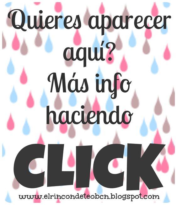 """http://elrincondeteobcn.blogspot.com.es/p/publicidad-gratis.html Hola EMPRENDEDORAS, MANITAS, CRAFTERS, BLOGGERS, EMPRESARIAS!!! Aquí les dejo las condiciones para poder salir en nuestro Blog durante un tiempo y GRATIS!!!!! Si tienes un Blog de HandMade, Costura, Ganchillo, Crochet, Crianza con Apego, Materiales para Manualidades, Todo hecho a mano, Sobre tu vida, Recetas, etc, te invito a que te comuniques conmigo al siguiente email elrincondeteo@gmail.com con el ASUNTO """"PUBLICIDAD""""."""