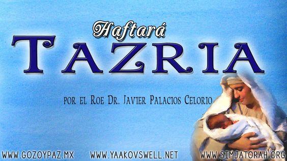 Haftara  Tazria por el Roe Dr. Javier Palacios Celorio- Kehila Gozo y Paz