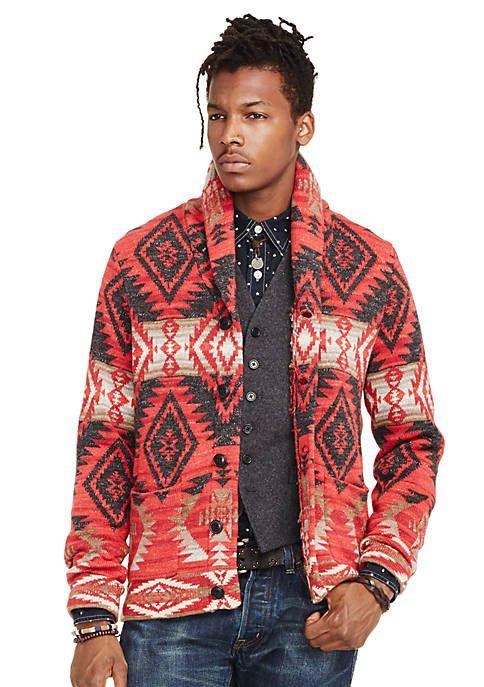 zoo Cielo Céntrico  Denim & Supply Ralph Lauren Southwestern Cardigan Sweater   Mens cardigan  sweater, Denim and supply, Cotton cardigan sweater