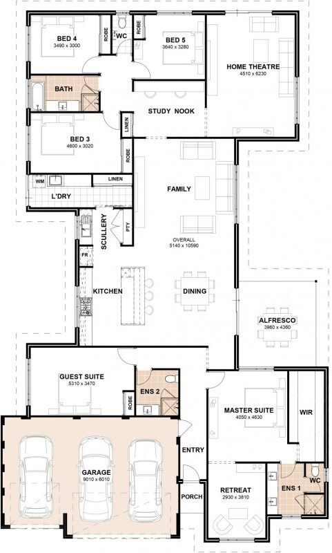Pin By Enid Burgos Viera On Houses Floor Plan Layout Dream