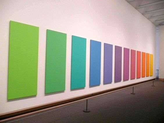 Rainbow installation at the Met