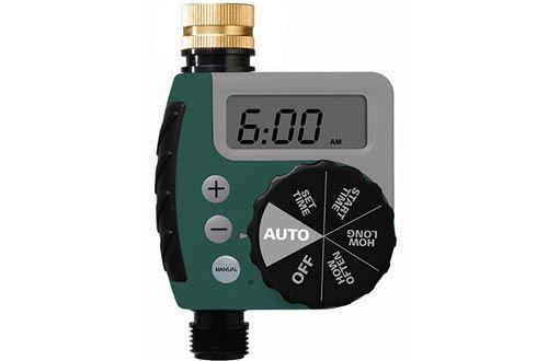 Orbit 62056 One Outlet Single Dial Hose Faucet Timer Irrigation Accessories Sprinkler Timer Water Hose
