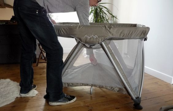 Test : lit parapluie Sena de Nuna