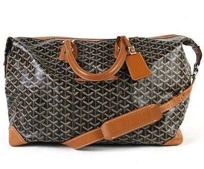Goyard Weekender bag, a girl can dream...right?