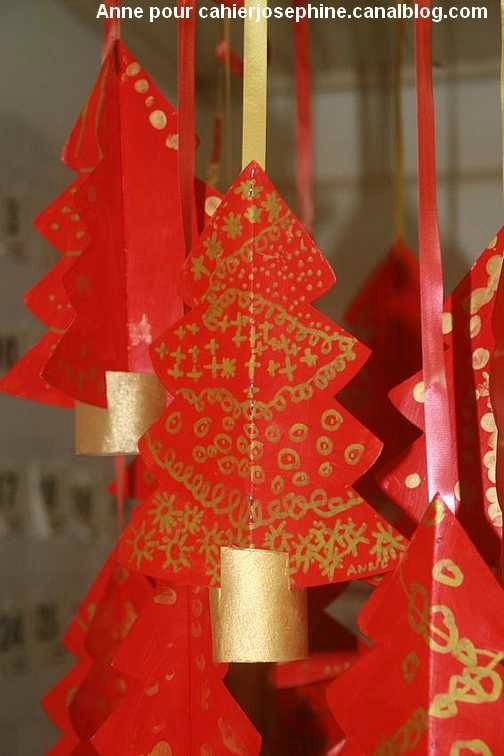 Sapin rouge graphique id es pour la maison pinterest arbres de no l d - Sapin de noel pinterest ...