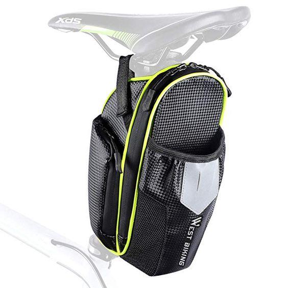 Icocopro 2l Bicycle Saddle Bag West Biking Bike Seat Pack With