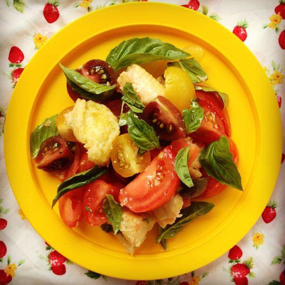 italian tomato & bread salad