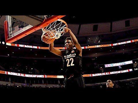Mitchell Robinson Mixtape Highlights 7 1 Nba Draft Prospect Nba Draft Basketball Highlights Knicks