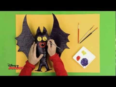 Halloween art and youtubers on pinterest for Chauve souris en papier