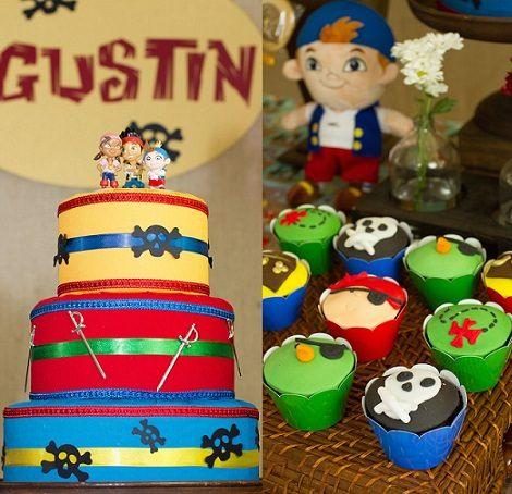 Como decorar una fiesta infantil de jey y los piratas de - Como decorar una fiesta de cumpleanos infantil ...