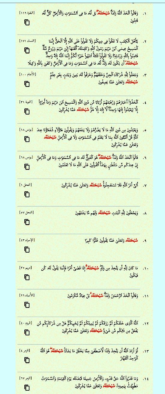 سبحانه أربع عشرة مرة في القرآن ست مرات سبحانه وتعالى أربع مرات سبحانه وتعالى عما يشركون Bullet Journal Journal