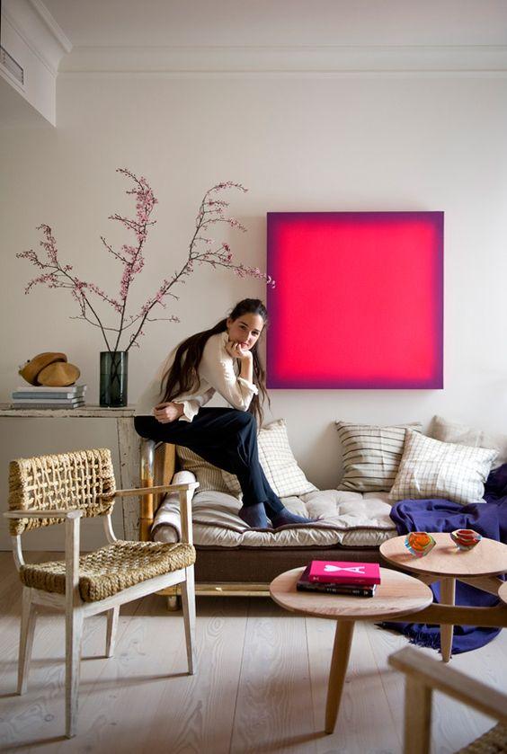 An eclectic home by Marta de laRica - desire to inspire - desiretoinspire.net