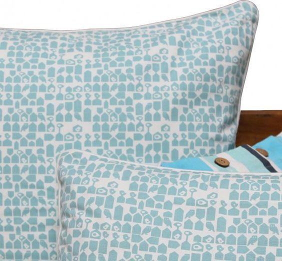 Hamlet Greenish Blue Cushion Covers