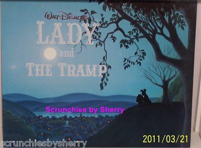 4 Walt Disney Art Lady & the Tramp Lithographs Mint