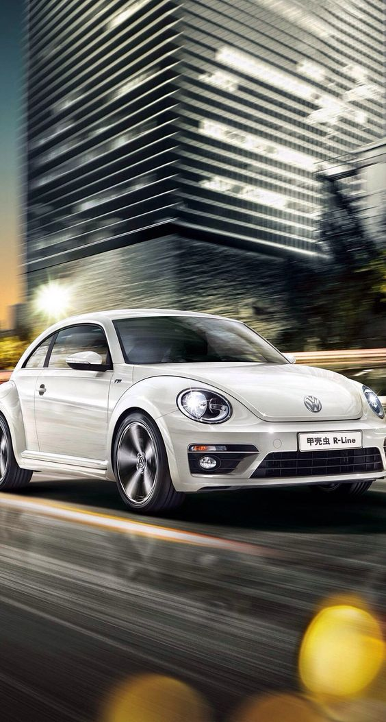 Hot car...I love the color and I would love this Volkswagen...#car #white #volkswagen