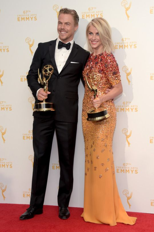 Emmys 2015 Derek and Julianne Hough