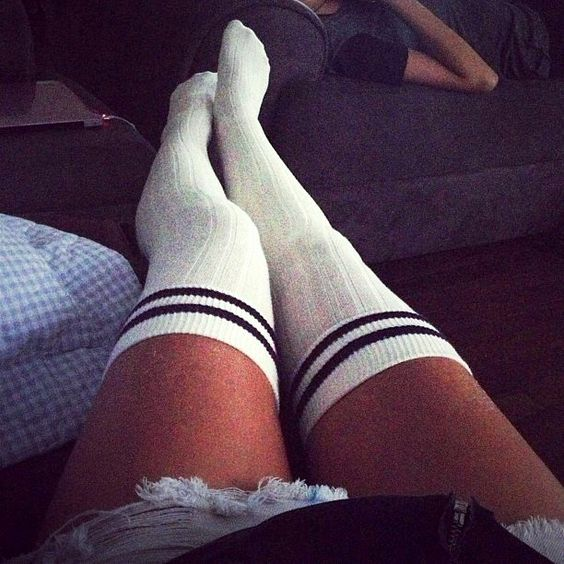 Sexy, Sexy socks and Knee highs on Pinterest