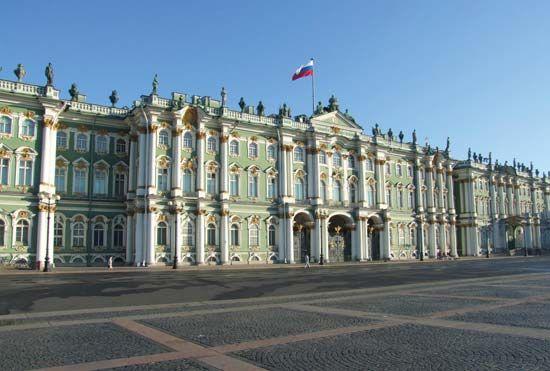 Museu Hermitage - São Petersburgo - Rússia