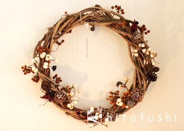 Simple holiday wreath 2