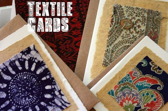 textile cards #EthnicArts Berkeley CA. @Onceuponateatime
