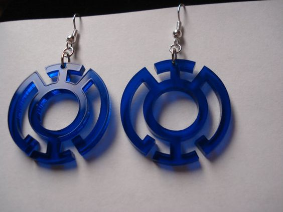 I have a pair of these Blue Lantern earrings, and they're awesome. :)