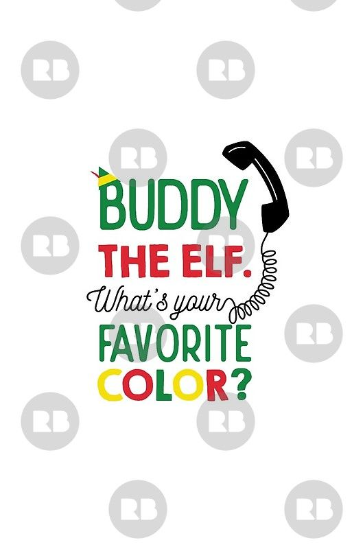 Buddy Elf What S Your Favorite Color Buddy The Elf Cute Christmas Wallpaper Wallpaper Iphone Christmas