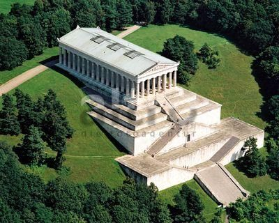 Always meant to hike up but somehow always ended up driving. I guess a reason to go back. walhalla regensburg, #bavaria: