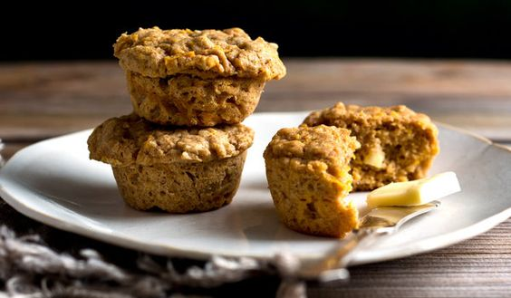 Oat muffins, Butternut squash and Squashes on Pinterest