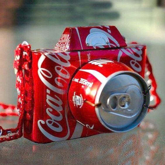 Coke camera! By @themarkmontano #upcycling