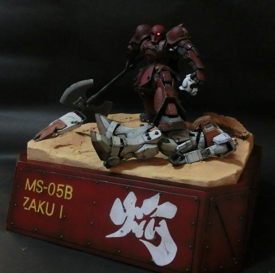 MS-05B ZAKU1 「焔」