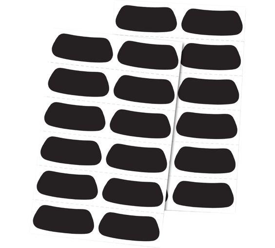 Rawlings Eye Black Stickers 12 Pair Pack Eye Black Stickers Eye Black Softball Eye Black Sports