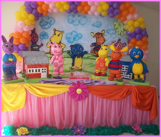 Festa Infantil Backardigans