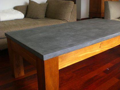Beton Möbel. Beton Cire Küchenarbeitsplatte. Beton Tisch ...