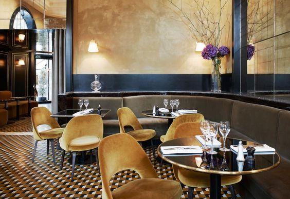 Come riprogettare un vecchio ristorante? Ecco alcune idee dell'interior designer francese Joseph Dirand