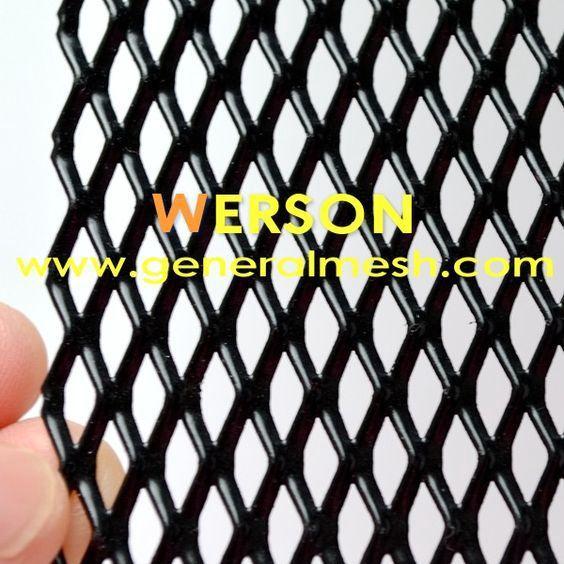 Universal Black Aluminium Racing Race Honeycomb Mesh Grille Mesh 100 X 25cm Aperture 12x6 Mm Color Black Materia Aluminium Alloy Custom Grill Aluminium