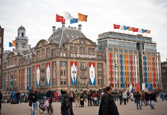 Amsterdam maakt zich op voor de troonswisseling