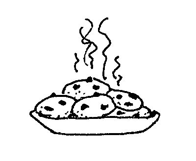Clip Art Cookies Clip Art mormon share plate of cookies art and black white clip this image cookies