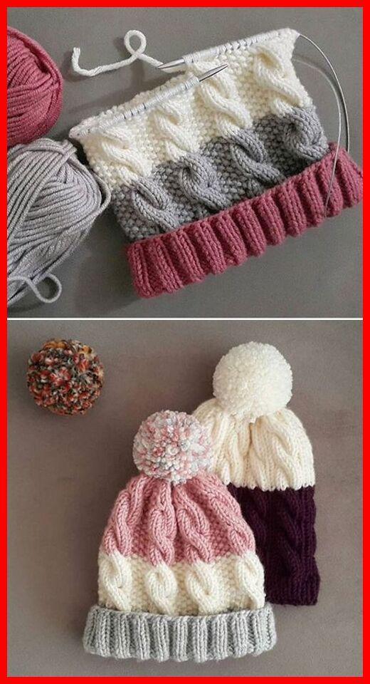 Free Knitting Pattern Ganchillo Gorros Tejer Gorros Ganchillo Hacer Gorro De Lana