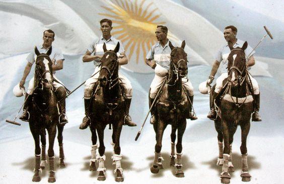 Argentina en 1936 los Juegos Olímpicos de Berlín.
