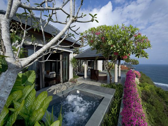 Go now! Couples and families alike. Villas here can arrange for outdoor BBQs, surrounded by torch lights and candles floating on private pools. This is the quieter side of Bali, on shores south of Denpasar. As ever, Banyan Tree picked the right spot for spectacular sunrises and sunsets.