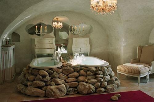 Banheira, uma para mim e outra para meu amor!