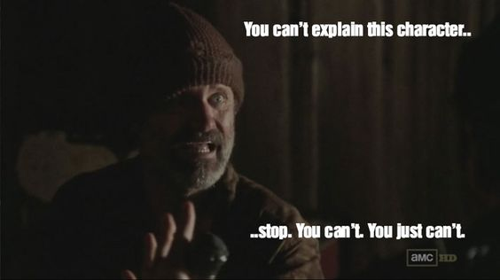 "That random dude sleeping in a shack: | ""The Walking Dead"" Season 3 Recapped In Memes"