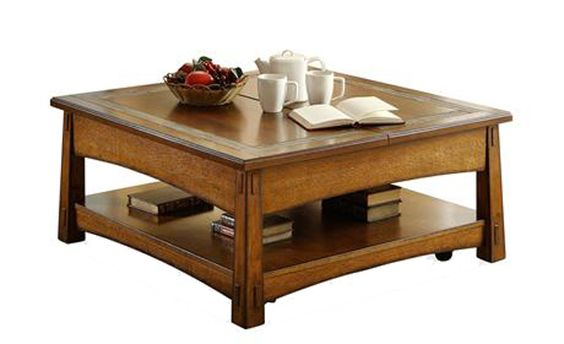 Square Coffee Tables Craftsman And Coffee Tables On Pinterest