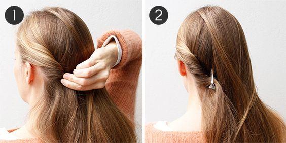 5 peinados fáciles paso a paso para diario
