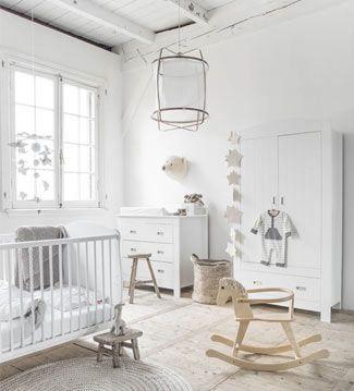 Almost al white nursery! Crispy clean baby's room Mi cuarto mola   Ventas en Westwing