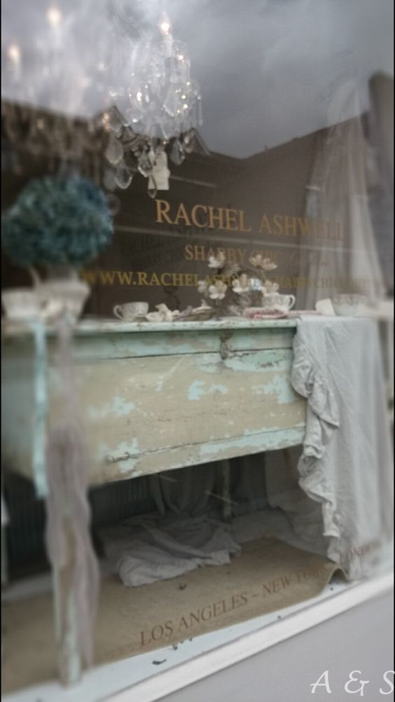 Nearly cried when I found Rachel Ashwell's store in Chelsea, a dream...