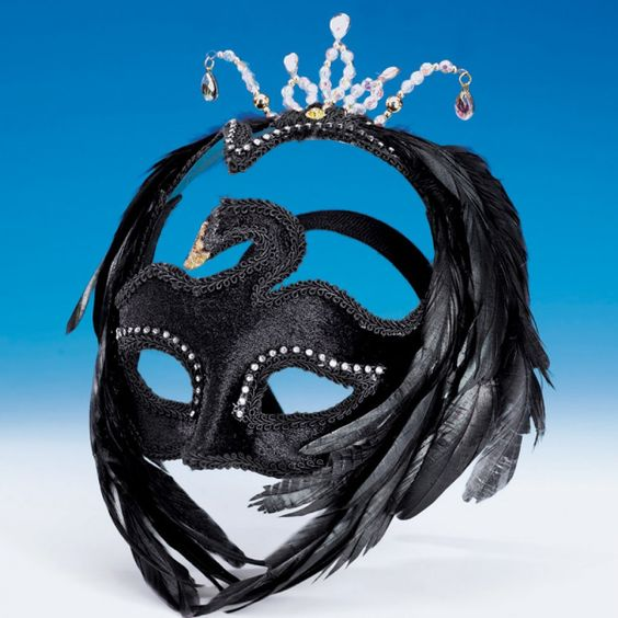 Black Swan Mask dazzle-dancewear.co.uk