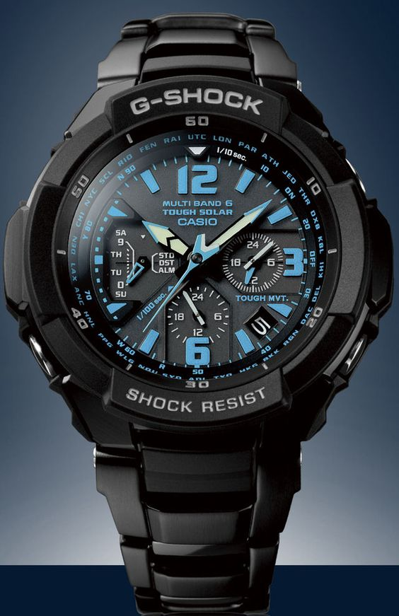 Casio G-shock got to have!